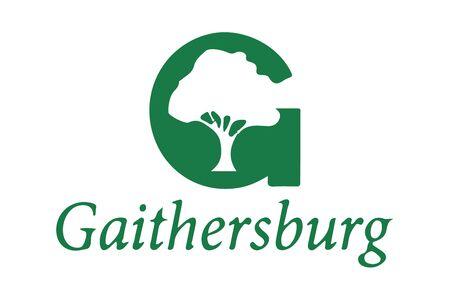 Flag of Gaithersburg, Maryland, USA. Vector Format