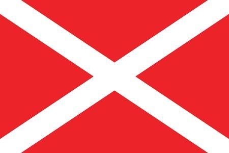 malta cities: Flag of Zabbar, Malta. Vector Format
