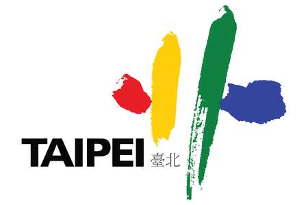 education policy: Flag of Taipei City, Taiwan. Vector Format