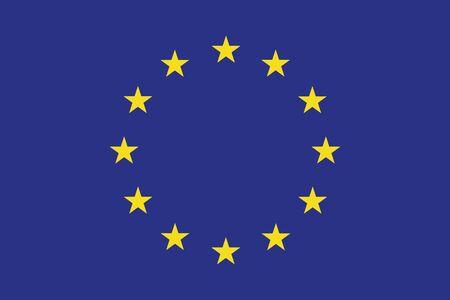 european union flag: European Union Flag. Vector Format