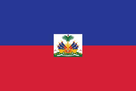 Haiti Flag. Vector Format