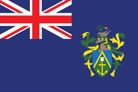 pitcairn: Flag of Pitcairn Islands. Vector Format