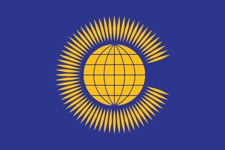 commonwealth: Flag of the Commonwealth of Nations. Vector Format