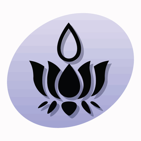 Religious sign. The symbol of Ayyavazhi. Vector Format. Illustration