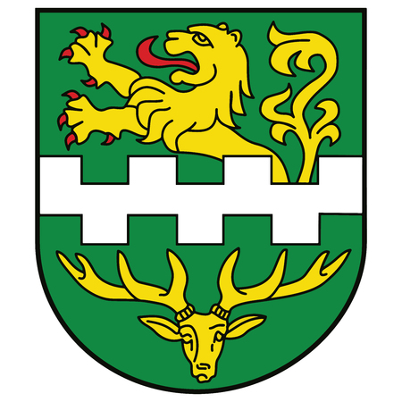 Coat of arms of Bergisch Gladbach, Germany. Vector Format.