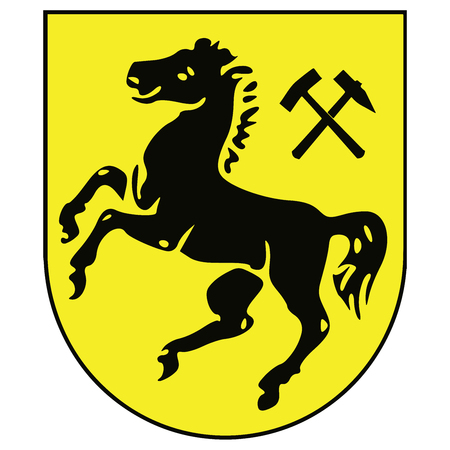Coat of arms of Herne, Germany. Vector Format.