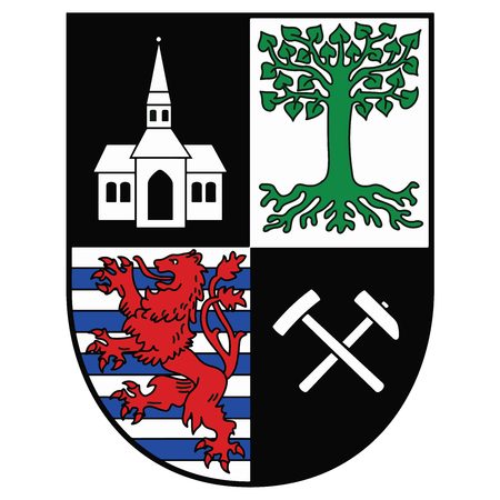 Coat of arms of Gelsenkirchen, Germany. Vector Format.