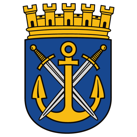 Coat of arms of Solingen, Germany. Vector Format. Illustration