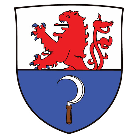 polity: Coat of arms of Remscheid, Germany. Vector Format.
