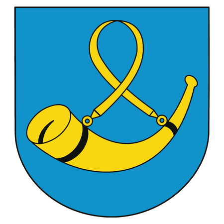Coat of arms of Tychy, Poland. Vector Format.