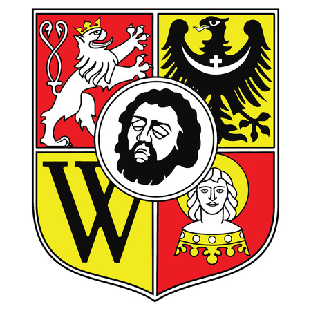 wroclaw: Coat of arms of Wroclaw, Poland. Vector Format.