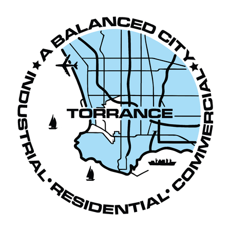Torrance images stock pictures royalty free torrance photos and torrance seal of torrance california usa vector format illustration sciox Images