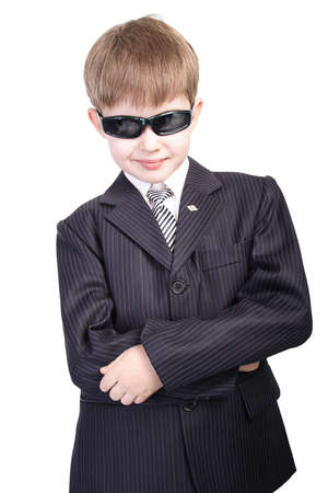 business boy at glasses Stock Photo - 450272