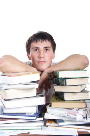 homestudy: Portrait of a student. Shot in studio.