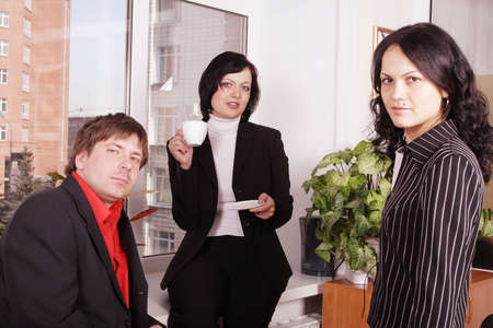 Group of 3 business people. Stock Photo - 895756