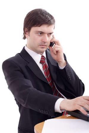 Portrait of a businessman. Shot in studio. Stock Photo - 911192