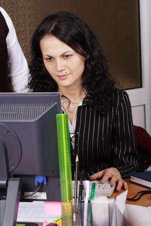 Portrait of a stylish businesswoman.  Stock Photo - 911208