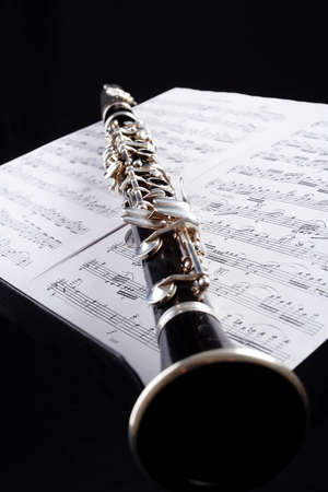 vibrate: Musical background � instruments. Shot in studio. Stock Photo