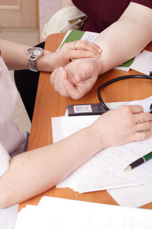 Doctors are working - medicine background. Stock Photo - 938030