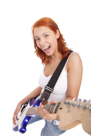 Portrait of a styled professional model. Theme: teens, music. Stock Photo - 1125804