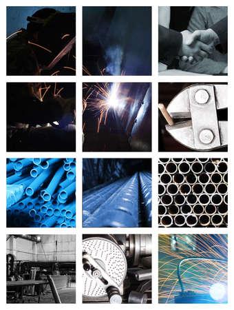 An industrial background. Machine, mechanism. Stock Photo - 1179467