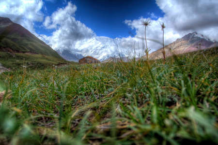 Fantastic landscape. Shot in a mountain. photo