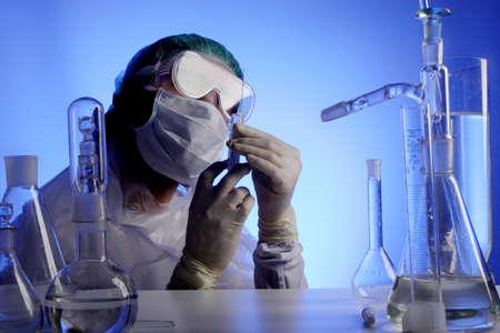 Medical science equitpment. Research, laboratory, science, testing  Stock Photo - 1564510
