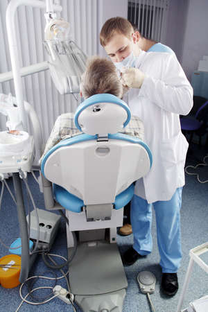 trained: Dental background: work in clinic (operation, tooth replacement)