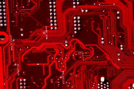 Technics background: computer circuit board photo