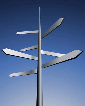 Arrows. Idea for business, travel and other industry.   photo