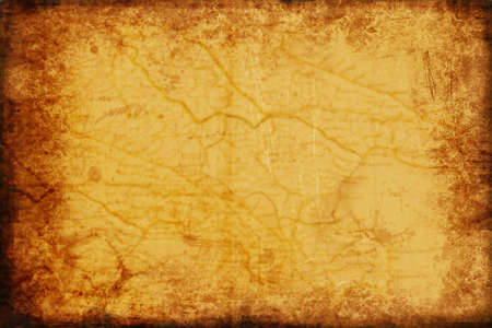 Old map texture. Very useful.  Stock Photo - 1936488