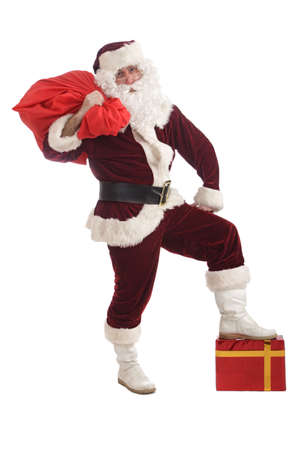 Santa with gifts Stock Photo - 2068673