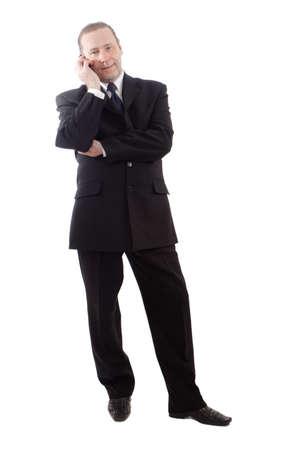 A portrait of a businessman. Shot in studio. Stock Photo - 2139284
