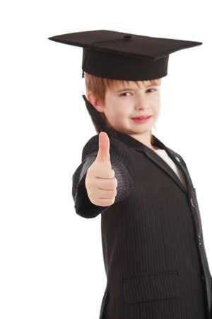 Portrait of a styled children. Theme: art, education, school Stock Photo - 2353955