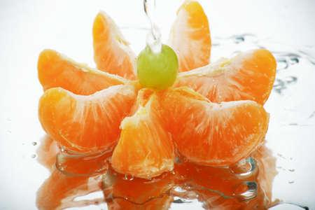 nutriments: Hortalizas frescas, frutas y otros productos alimenticios. Filmada en un estudio.