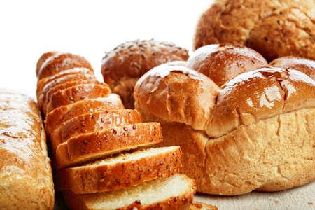 viveres: Comestibles de la panader�a. Tirado en un estudio.