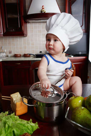 Cook and other food ingredient and foodstuf Stock Photo - 2669752