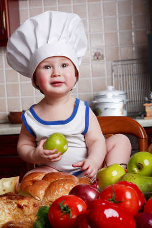 Cook and other food ingredient and foodstuf Stock Photo - 2669748