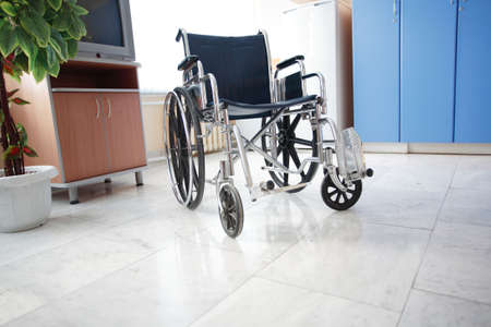 invalidity: Doctors are working - medicine  background. Shot in a hospital.