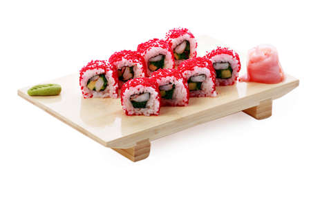Japanese cuisine: seafoods and other Stock Photo - 2891343