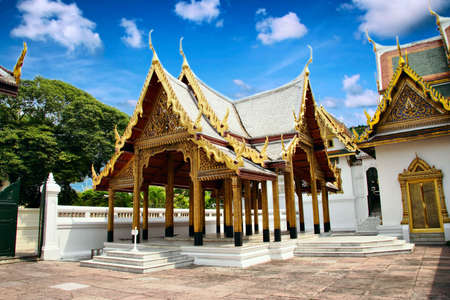 Buddhism religion in the architectural monument photo