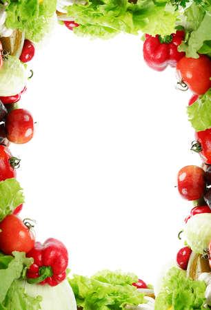 viveres: Frame: verduras frescas, frutas y otros productos alimenticios.