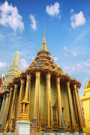 place to shine: Buddhism religion in the architectural monument