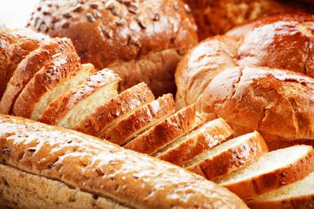 viveres: Panader�a productos alimenticios. Filmada en un estudio.
