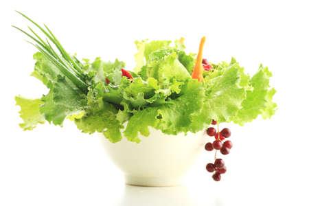 aliments: L�gumes frais, et d'autres denr�es alimentaires. Tourn� dans un studio.