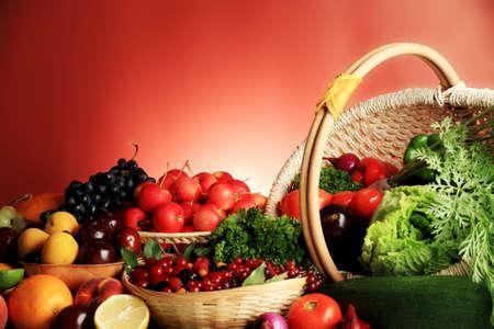 nutriments: Verduras y hortalizas frescas, frutas y otros productos alimenticios. Enorme colecci�n