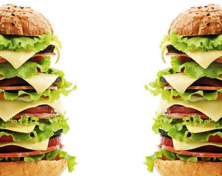 arracher: Forme naturelle des aliments, p�tisserie. Fast food. Tourn� dans un studio.