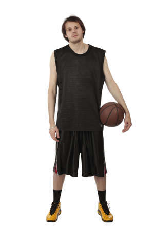 Portrait of a styled professional model. Basketball photo