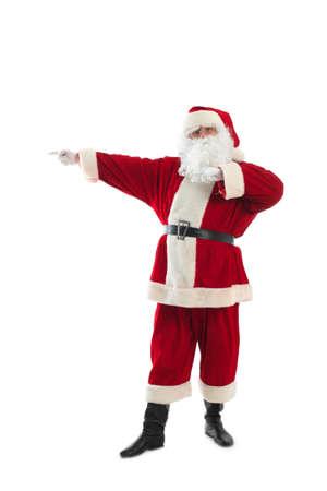 Xmas  background: Santa Claus, gifts, Stock Photo - 3965830