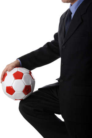 careerist: Business theme: business, sport and healthy life conception. Stock Photo